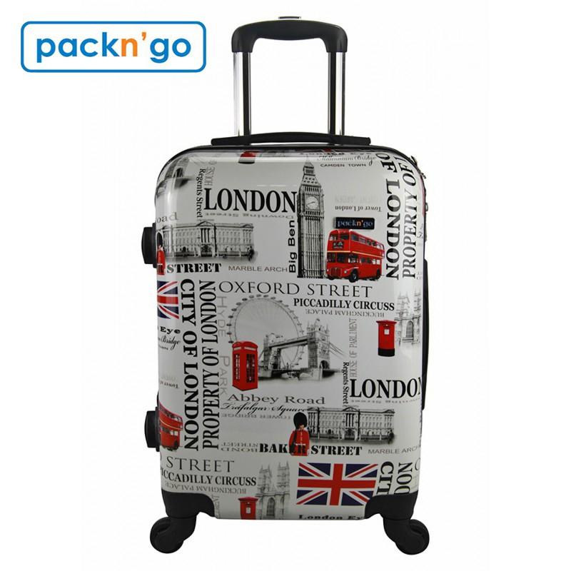 Vali thời trang Pack n' Go 120M6 size 20 - họa tiết London