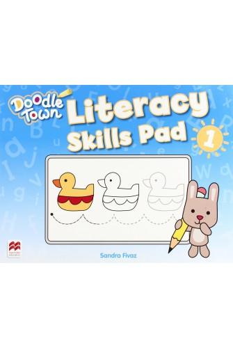 Doodle Town 1: Literacy Skills Pad