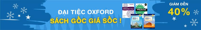 Đại tiệc Oxford - Sách gốc giá sốc