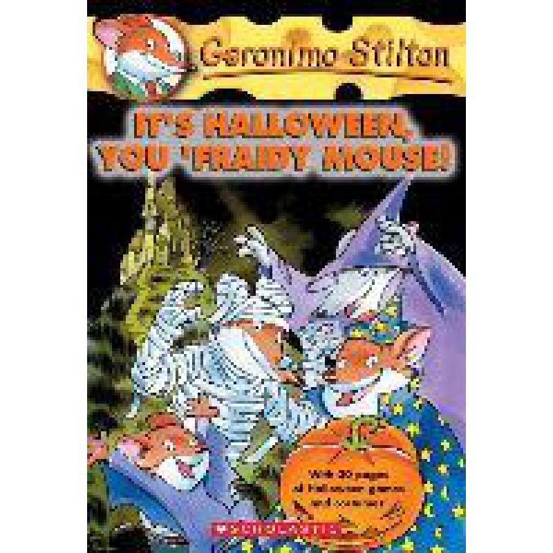 Geronimo Stilton #11: Halloween? What A Fright!
