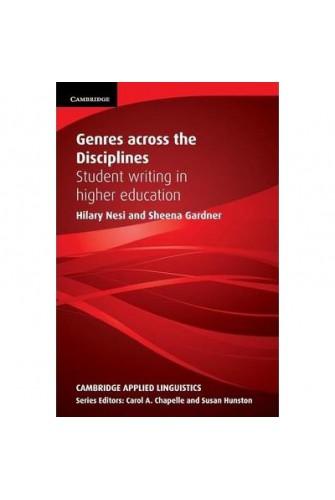 Genres Across the Disciplines: Paperback