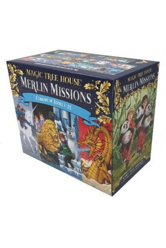 The Merlin Missions Box Set (from 1-25)