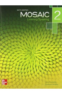 Mosaic - Listening & Speaking 2 (5 Ed.): Student Book